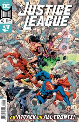 JUSTICE LEAGUE #40 (2018) VF/NM DC