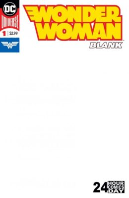 WONDER WOMAN BLANK #1 () VF/NM DC