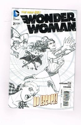 WONDER WOMAN #21 SKETCH VARIANT (2011) VF/NM DC