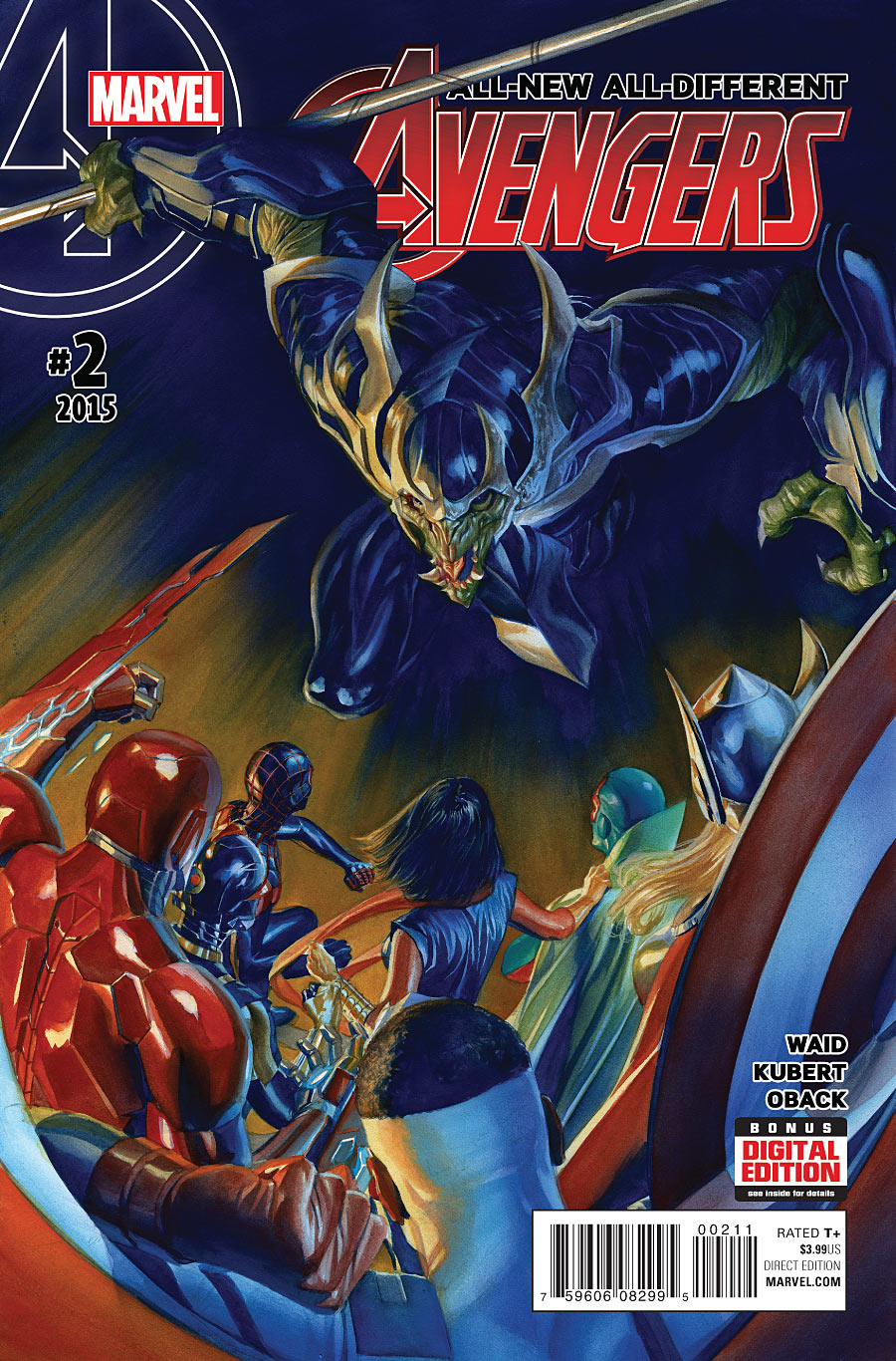 ALL NEW ALL DIFFERENT AVENGERS #2 (2015) VF/NM MARVEL