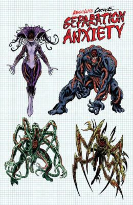 ABSOLUTE CARNAGE SEPARATION ANXIETY #1 1:10 LEVEL DESIGN VARIANT (2019) VF/NM MARVEL