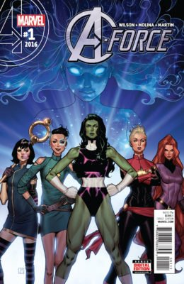 A-FORCE #1 (2016) VF/NM MARVEL