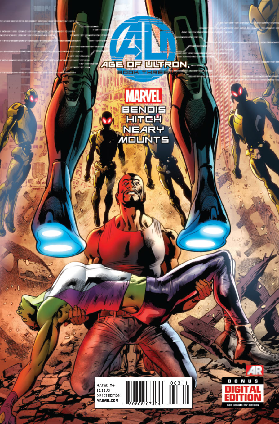 AGE OF ULTRON #3 (2013) VF/NM MARVEL