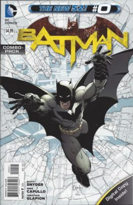 BATMAN #0 COMBO PACK (2011) VF/NM DC
