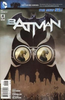 BATMAN #4 3RD PRINTING 1ST FULL APP TALON NEW 52 (2011) VF/NM DC