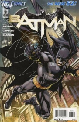 BATMAN #3 VARIANT NEW 52 (2011) VF/NM DC