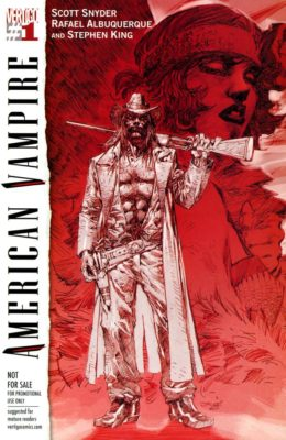 AMERICAN VAMPIRE #1 DIAMOND RETAILER SUMMIT JIM LEE VARIANT (2010) VF+ VERTIGO