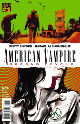 AMERICAN VAMPIRE: SECOND CYCLE #1 (2014) VF/NM VERTIGO