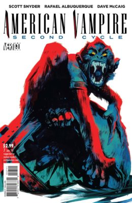 AMERICAN VAMPIRE: SECOND CYCLE #7 (2014) VF/NM VERTIGO