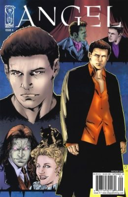 ANGEL: THE CURSE #4 COVER B (2005) VF IDW