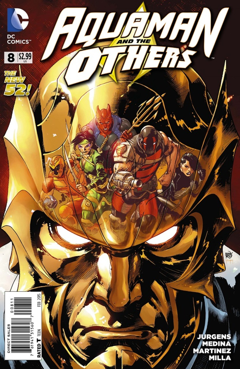 AQUAMAN AND THE OTHERS #8 (2014) VF/NM DC
