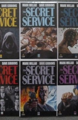 SECRET SERVICE #1-6 COMPLETE SET (2012) VF/NM ICON