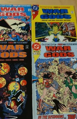 WAR OF THE GODS #1-4 COMPLETE SET (1991) VF DC