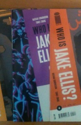 WHO IS JAKE ELLIS? #1-5 COMPLETE SET (2ND PRINT #1) (2013) VF/NM IMAGE