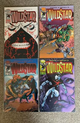 WILDSTAR #1-4 COMPLETE SET (1993) VF/NM IMAGE