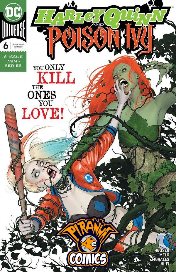 HARLEY QUINN AND POISON IVY #6 (2020) VF/NM DC