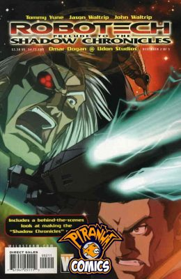 ROBOTECH: PRELUDE TO THE SHADOW CHRONICLES #2 (2005) PRE-OWNED DC