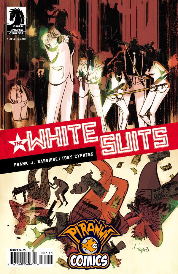 THE WHITE SUITS #1 (2014) PRE-OWNED DARK HORSE