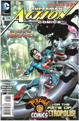 ACTION COMICS #8 (2011) PRE-OWNED DC