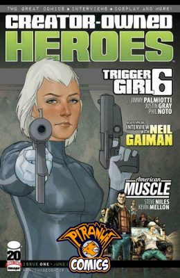 CREATOR OWNED HEROES #1 (2012) VF/NM IMAGE