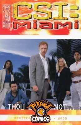 CSI MIAMI: THOU SHALT NOT #1 (2004) VF/NM IDW
