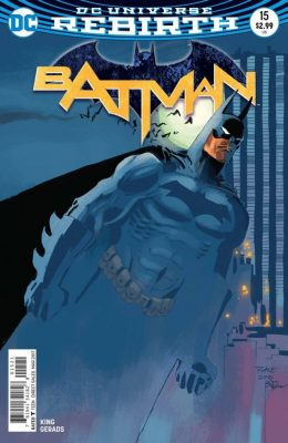 BATMAN #15 VARIANT (2016) VF/NM DC