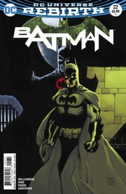 BATMAN #22 VARIANT (2016) VF/NM DC