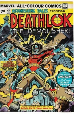 ASTONISHING TALES #25 1ST APP DEATHLOK (1970) FN/VF MARVEL