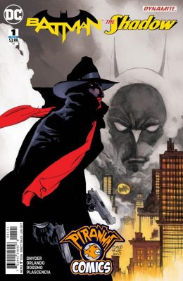 BATMAN / THE SHADOW #1 COVER B SALE (2017) VF/NM DC