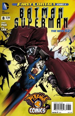 BATMAN / SUPERMAN #8 (2013) VF/NM DC