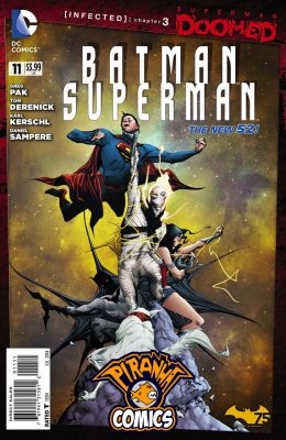BATMAN / SUPERMAN #11 (2013) VF/NM DC
