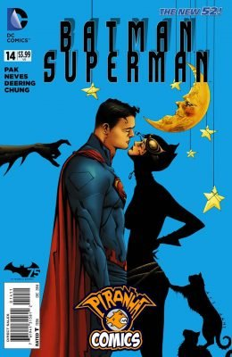 BATMAN / SUPERMAN #14 (2013) VF/NM DC