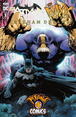 BATMAN / THE MAXX: ARKHAM DREAMS #1 1:25 JIM LEE VARIANT (2018) VF/NM DC
