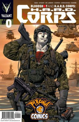 BLOODSHOT AND H.A.R.D. CORPS #0 (2013) VF/NM VALIANT