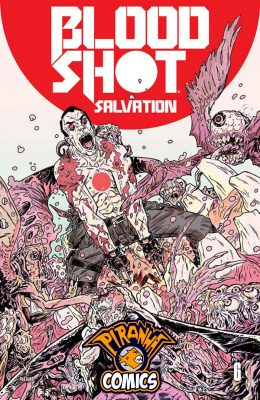 BLOODSHOT SALVATION #6 COVER C (2017) VF/NM VALIANT