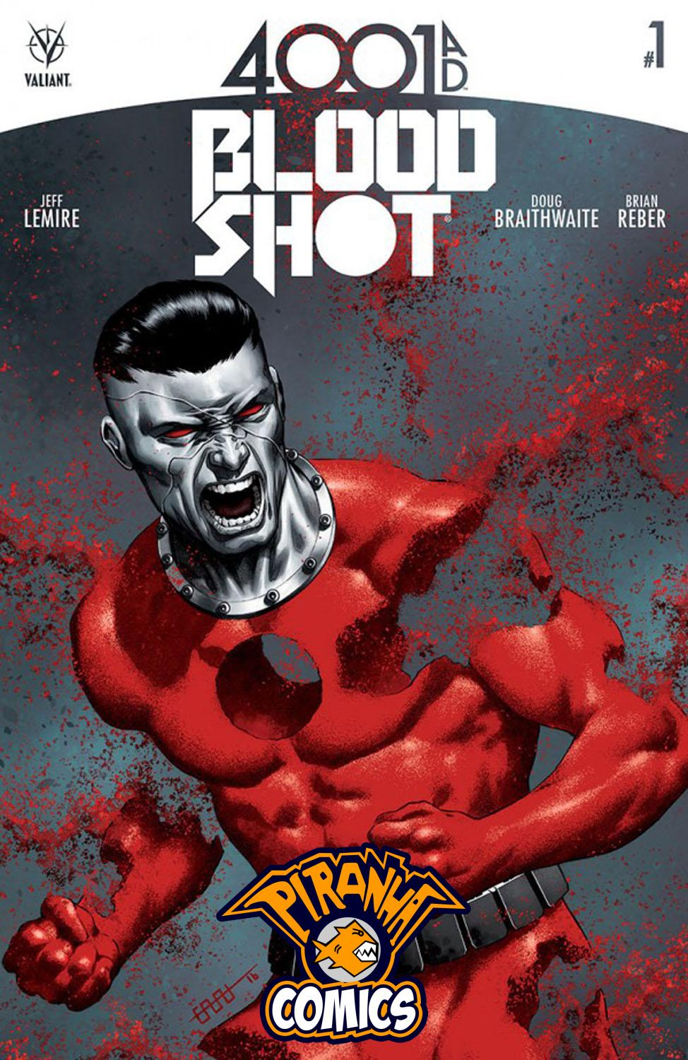 4001 A.D: BLOODSHOT #1 COVER C (2016) VF/NM VALIANT