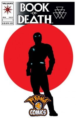 BOOK OF DEATH #1 COVER G (2015) VF/NM VALIANT