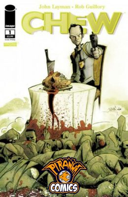 CHEW #1 2ND PRINT (2009) VF/NM IMAGE