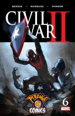 CIVIL WAR II #6 (2016) VF/NM MARVEL
