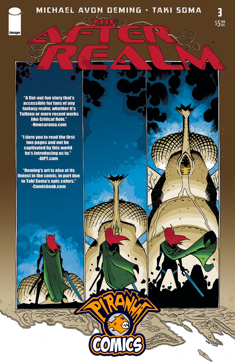 AFTER REALM #3 PRE-ORDER 16/09/20 VF/NM IMAGE