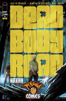 DEAD BODY ROAD BAD BLOOD #4 (OF 6) PRE-ORDER 23/09/20 VF/NM IMAGE