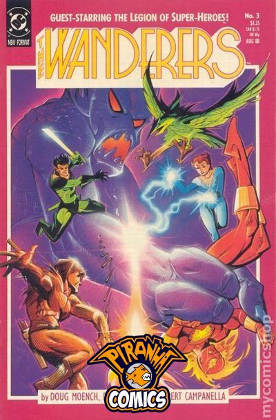 THE WANDERERS #3 (1988) PRE-OWNED DC