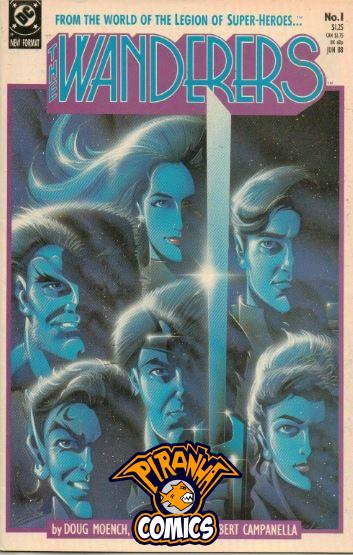 THE WANDERERS #1 (1988) PRE-OWNED DC
