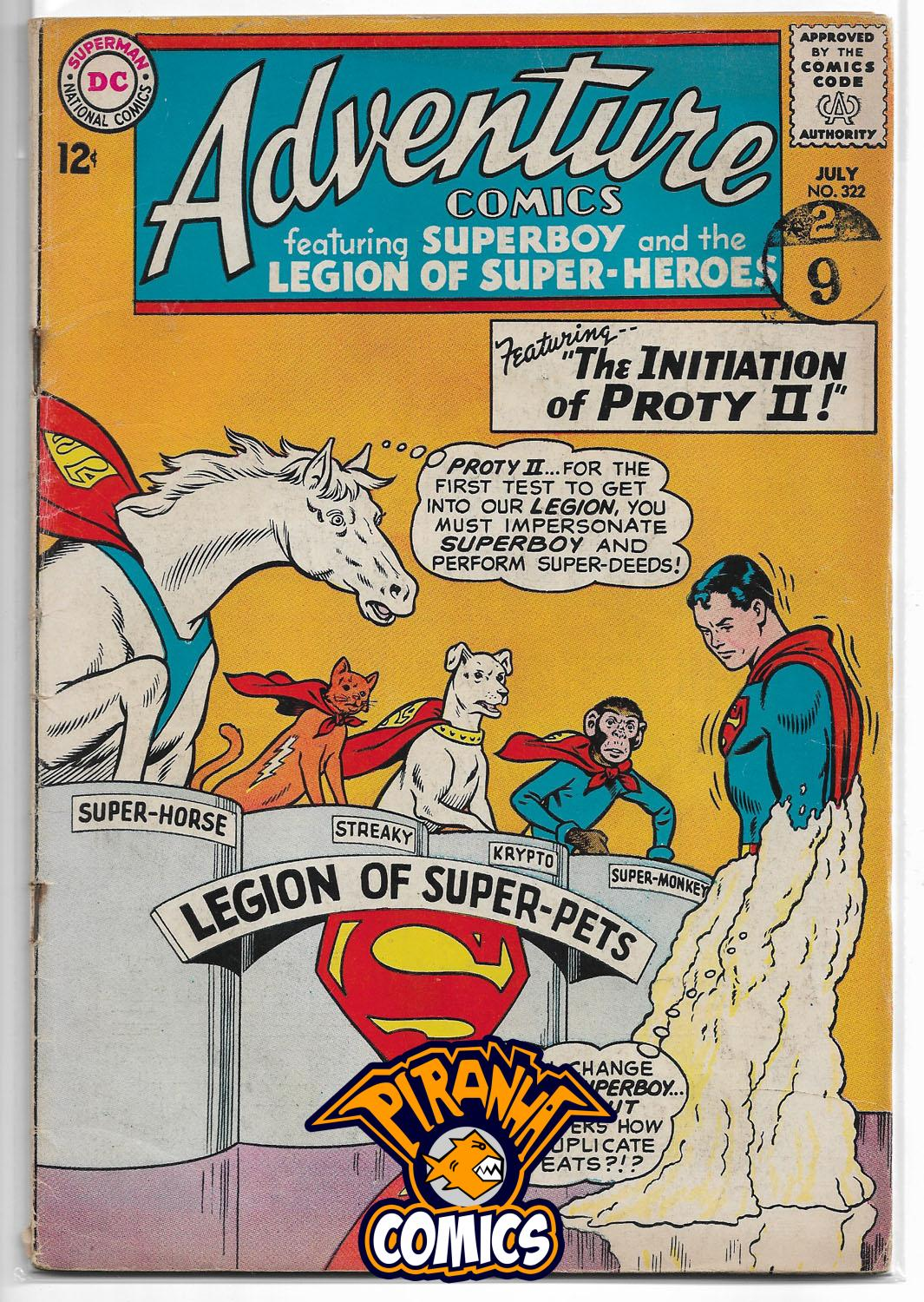 ADVENTURE COMICS #322 (1938) GD- DC