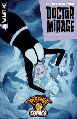 THE DEATH-DEFYING DOCTOR MIRAGE #4 (2014) VF/NM VALIANT