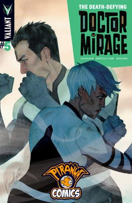 THE DEATH-DEFYING DOCTOR MIRAGE #5 (2014) VF/NM VALIANT
