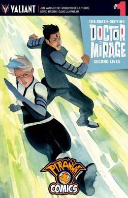 THE DEATH-DEFYING DOCTOR MIRAGE: SECOND LIVES #1 COVER B WADA (2015) VF/NM VALIANT