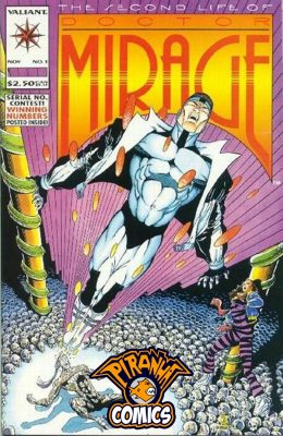THE SECOND LIFE OF DOCTOR MIRAGE #1 (1993) VF VALIANT