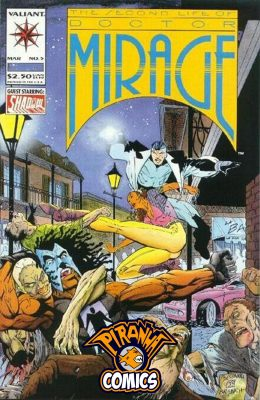 THE SECOND LIFE OF DOCTOR MIRAGE #5 (1993) VF VALIANT