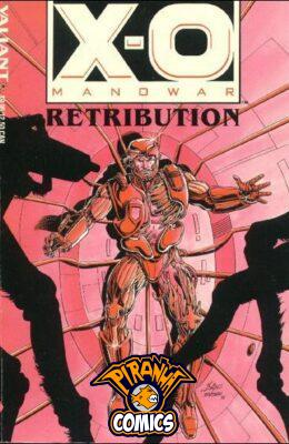 X-O MANOWAR VOL. 1: RETRIBUTION TP NEW SEALED VALIANT